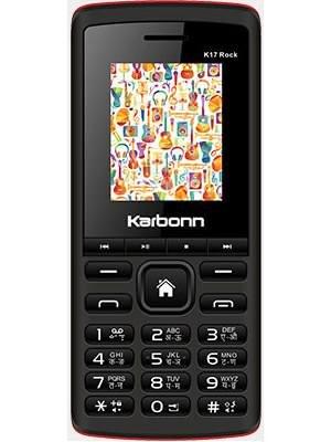Karbonn 17 Rock (Black & Red Mobile Mobile
