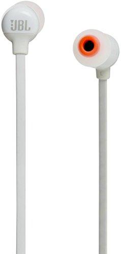 JBL T110BT Pure Bass Wireless Earphone, White