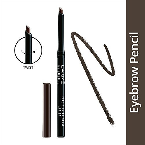 Lakme Dark Brown Absolute Precision Eye Artist Eyebrow Pencil