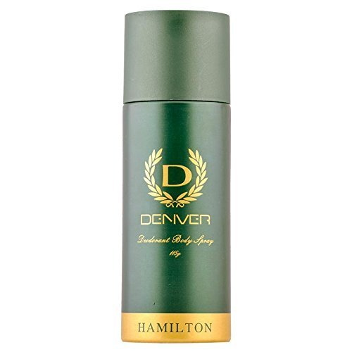 Denver Hamilton Deodorant Body Spray, 165 ml