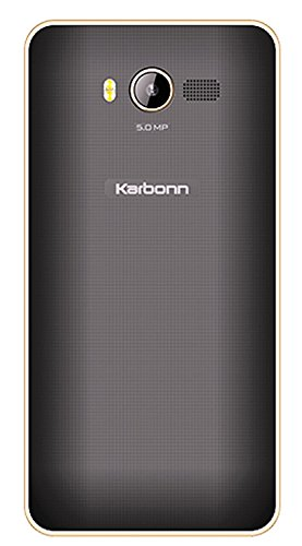 Karbonn K9 Smart Yuva (8GB, 1GB RAM) Black & Champagne Mobile