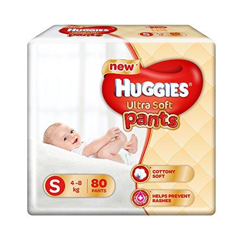 Huggies Ultra Soft Premium Pants S Diapers (80 Pieces)