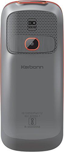 Karbonn K3 Boom Max (Grey Orange Mobile Mobile