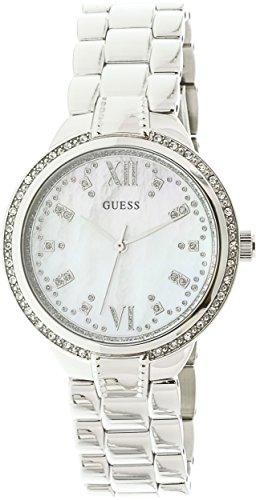 Guess W1016L1 Mademoiselle White Dial Analog Women's Watch (W1016L1)