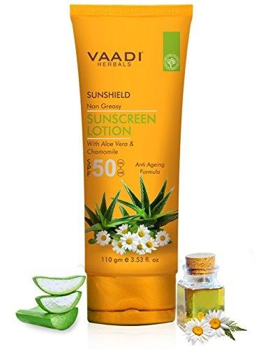 Vaadi Herbals SPF 50 Sunscreen Lotion (110gm)