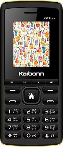 Karbonn 17 Rock (Black & Yellow Mobile Mobile