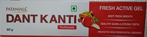 Patanjali Dant Kanti Fresh Active Gel Toothpaste, 80 GM