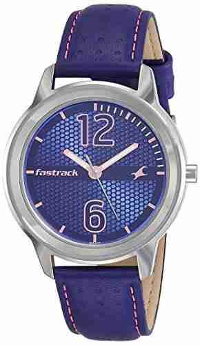 Fastrack 6169SL01 Loopholes Analog Silver Dial Women's Watch
