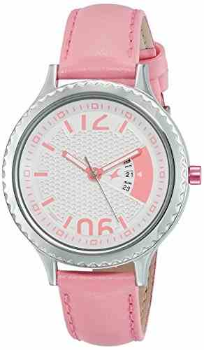 Fastrack 6168SL01 Loopholes Analog Silver Dial Women's Watch