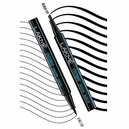 Lakme Eyeconic Liner Pen Fine Tip, Black