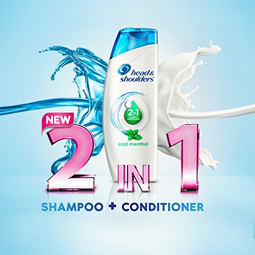 Head and Shoulders Cool Menthol 2 IN 1 Shampoo and Conditioner 360ml