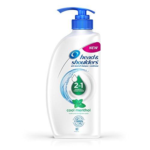 Head and Shoulders Cool Menthol 2 IN 1 Shampoo and Conditioner 675ml
