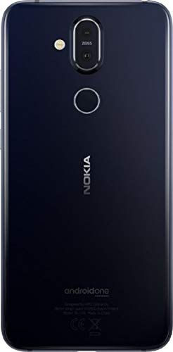 Nokia 8.1 (64GB, 4GB RAM) Blue Mobile