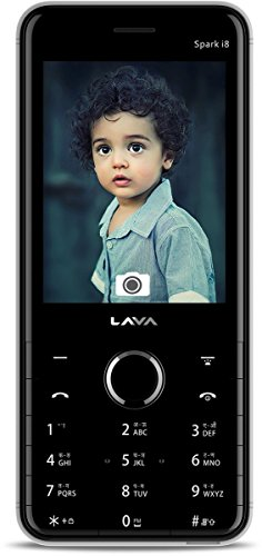 Lava Spark i8 (Black & Grey Mobile Mobile