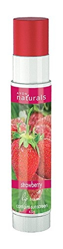Avon Naturals Lip Balm 4.5 GM Strawberry