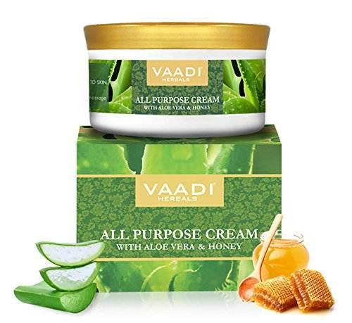 Vaadi Herbals Aloevera Honey & Manjishtha Purpose Cream, (150gm)