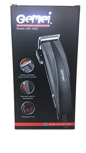 Gemei GM 1027 Non Rechargeable Hair Clipper Wired Trimmer