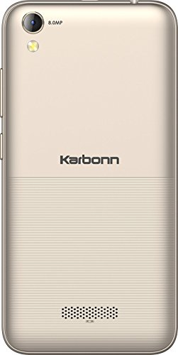 Karbonn K9 Music (16 GB, 1 GB RAM) Champagne Mobile