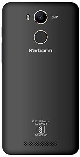 Karbonn K9 Kavach (16GB, 2GB RAM) Black Mobile