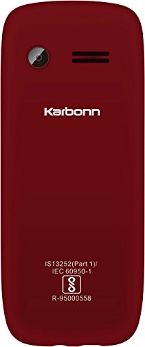 Karbonn K140 POP (Red Mobile) Mobile