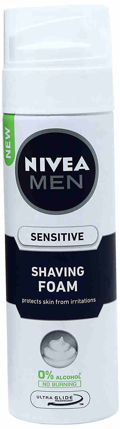 Nivea Sensitive Shaving Foam For Men, 200 ML