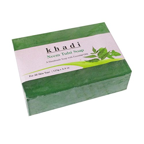 Khadi Herbal Neem Tulsi Soap, 125 GM