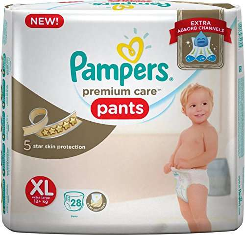 Pampers Premium Care XL Diapers (28 Pieces)