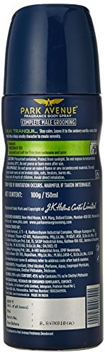 Park Avenue Tranquil Body Deodorant For Men, 150 ml