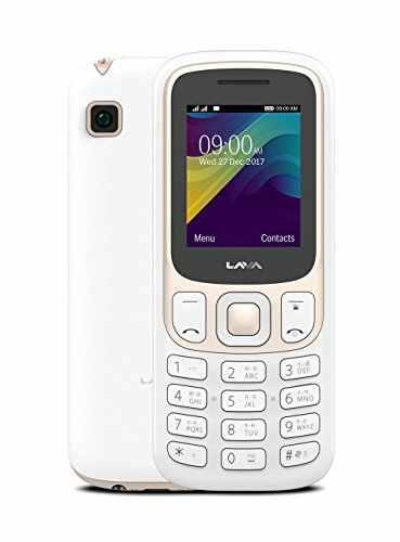 Lava Prime X White - Gold Mobile