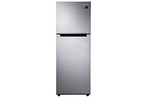 Samsung RT28N3083S9/NL 253L 3 Star Frost Free Double Door Inverter Refrigerator, Refined Inox