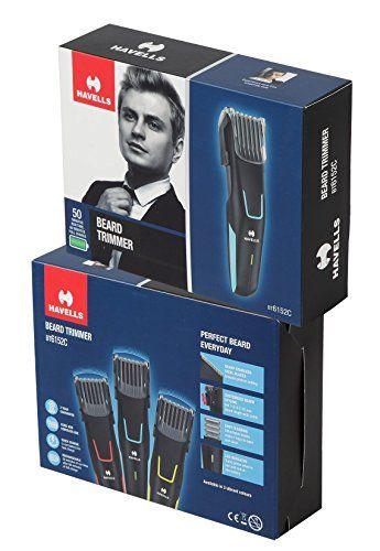 Havells BT6152C Beard Trimmer Black & Blue