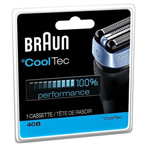 Braun 40B Series Replacement Shaving Foil Head & Cutter Cartridge