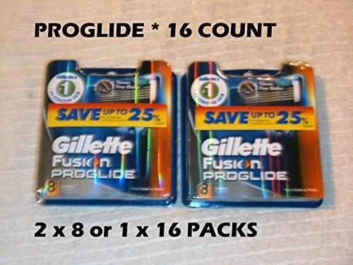 Gillette Fusion ProGlide Manual Razor Replacement Cartridge 16 Count