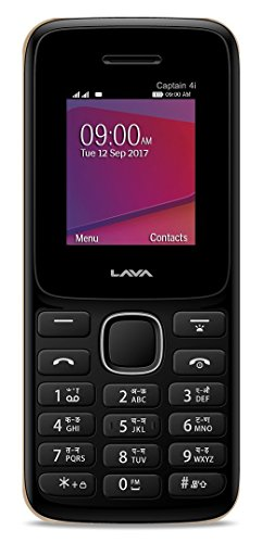 Lava Captain 4i (Black & Red Mobile Mobile