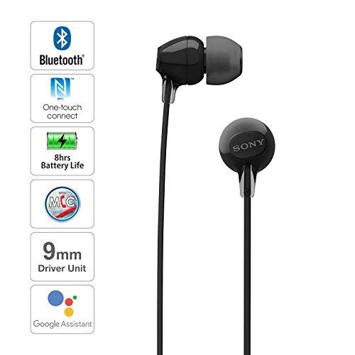 Sony WI-C300 Wireless In Ear Headphones, Black