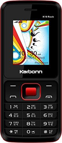 Karbonn K19 Rock (Black & Red Mobile Mobile