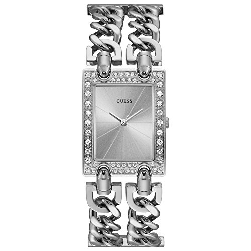 Guess W1121L1 Silver Toned Analog Women's Watch (W1121L1)