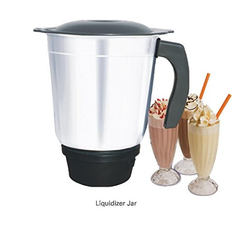 Inalsa Passion 600 Watts Compact & Stylish Design Mixer Grinder, (3 Jars)