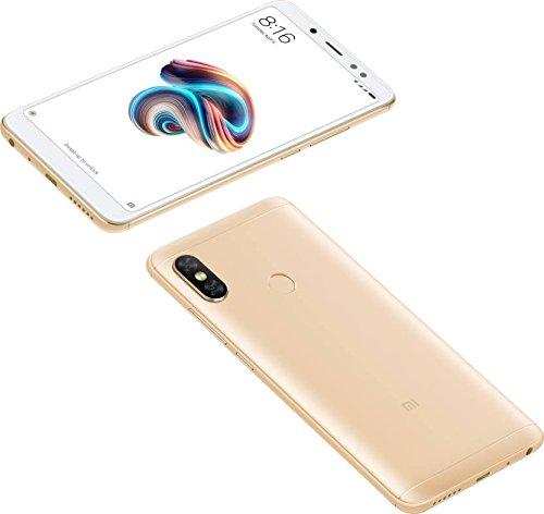 Xiaomi Redmi Note 5 Pro (64 GB, 6 GB RAM) Gold Mobile