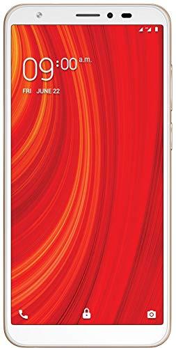 Lava Z61 (16GB, 1GB RAM) Gold Mobile