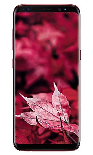 Samsung Galaxy S8 (64GB, 4GB RAM) Burgundy Red Mobile