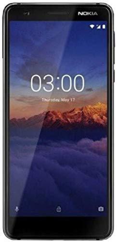 Nokia 3.1 (32 GB, 3 GB RAM) Black/Chrome Mobile