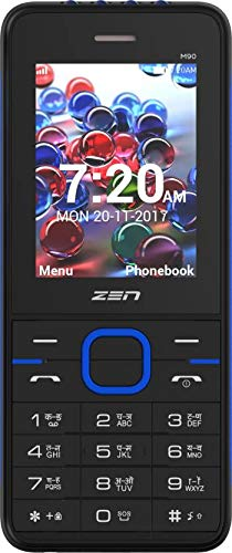 Zen M90 (Black & Blue Mobile Mobile