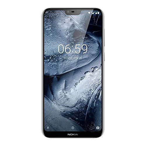 Nokia 6.1 Plus (64 GB, 4 GB RAM) White Mobile