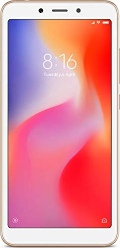 Xiaomi Redmi 6 (32 GB, 3 GB RAM) Gold Mobile