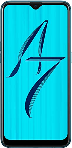 Oppo A7 (64GB, 4GB RAM) Glaze Blue Mobile