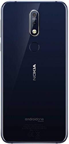 Nokia 7.1 (64 GB, 4 GB RAM) Gloss Midnight Blue Mobile