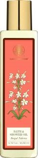 Forest Essentials Bengal Tuberose Bath and Shower Oil, 200 ML