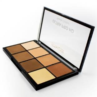 Makeup Revolution Hd Pro Powder Contour For Women Light Medium, 20 Gm