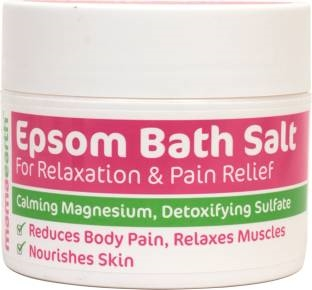 Mamaearth Epsom Bath Salt For Relaxation And Pain Releif, 200 Gm